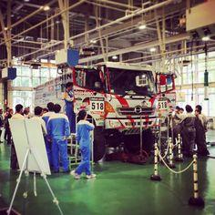 やっぱダカール車は大人気✨ 北海道立帯広高等技術専門学院