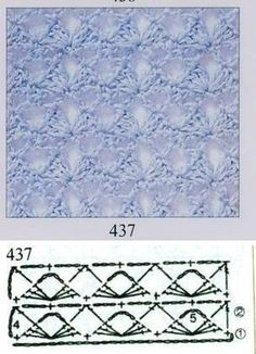 Irish lace, crochet, crochet patterns, clothing and decorations for the house, crocheted. Crochet Stitches Patterns, Crochet Chart, Crochet Granny, Crochet Motif, Irish Crochet, Knitting Stitches, Stitch Patterns, Knit Crochet, Crochet Decoration