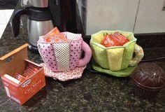 Xícaras para enfeitar mesas de chá