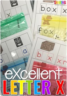 eXcellent Letter X | kindergarten | preschool | pre-k | learning letters | learning ABC | literacy activities | printable pack