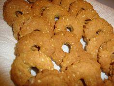 LE  RICETTE DI CHARA: Biscotti al sesamo e arancia ,  farina di  miglio ...