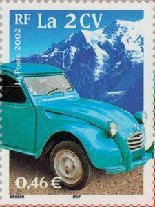 Transport 20th century: The 2 CV
