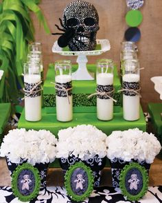 {New Orleans Style} Adult Halloween Voodoo Party