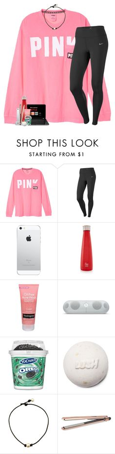 """oorn. comment your vsco username."" by theblonde07 ❤ liked on Polyvore featuring NIKE, S'well, Neutrogena, Beats by Dr. Dre and DIVA"