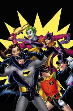 Batman '66: The TV Stories cover by Amanda Conner