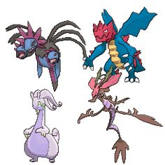 Dragon type Pokemon