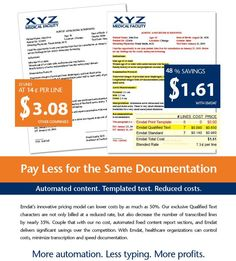 How to save up to on transcription costs. Medical Transcription, Data Entry, Health Care, Templates, Stencils, Western Food