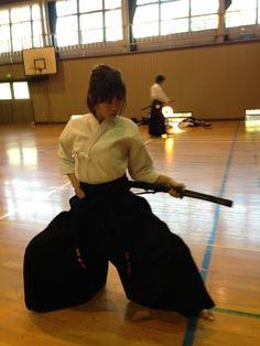 Yumiko Shaku, iaido