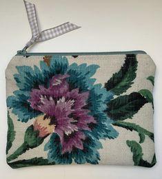 Vintage Linen coin purse £6.50