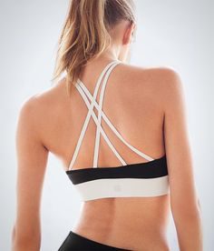 This crossback bra would be great for weight or interval training.