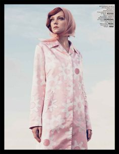 Heather Marks by Paul Schmidt for Marie Claire Italia May 2012