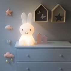 Bear and Rabbit LED Rechargeable Night Light! Order yours now via Whatsapp or just visit our showroom in Jounieh! 🛵 We are a message or a call away! Nursery Lighting, Baby Room Design, Baby Bedroom, Little Girl Rooms, Night Light, Light Led, Kid Beds, Kids Decor, Kids Furniture