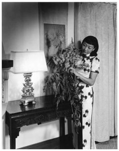 Anna May Wong, was born Wong Liu Tsong in Los Angeles in 1905, became the first Chinese American to become an American and global film star.