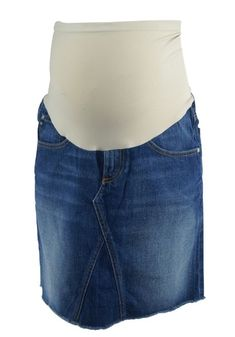 Dark Wash Adriano Goldschmied for A Pea in the Pod Collection Maternity Denim Skirt (Gently Used - Size - Motherhood Closet - Maternity Consignment Designer Maternity Clothes, Adriano Goldschmied, Denim Skirt, Boutique, Dark, Skirts, Closet, Collection, Fashion