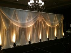 draping and lighting. the key to transforming any venue!