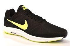 on sale f9cb2 10fc3 NIKE 852459 008 DOWNSHIFTER 7 NERO GIALLO Running Scarpa Uomo Ragazzo  Sneakers