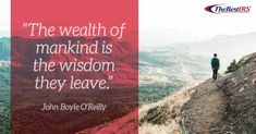 """""""The wealth of mankind is the wisdom they leave. Career Quotes, O Reilly, Wednesday Wisdom, Wealth, Learning, Travel, Viajes, Studying, Destinations"""