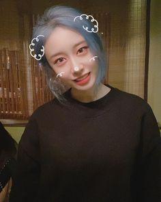 Baby Dino, Kpop Girls, Idol, Hoop Earrings, Cute, Jewelry, Twitter, Fashion, Moda