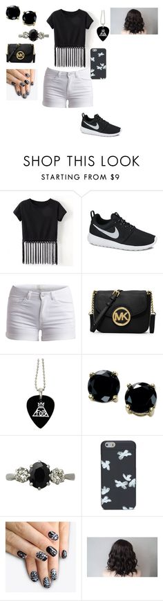 """Untitled #304"" by nolove21 ❤ liked on Polyvore featuring NIKE, Pieces, MICHAEL Michael Kors, B. Brilliant, Trilogy, Marc by Marc Jacobs and alfa.K"