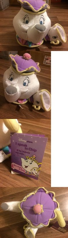 Beauty and the Beast 44033: Disney Beauty And The Beast Chip Mrs Potts Talking Plush Toy Stuffed - New W Tag -> BUY IT NOW ONLY: $60 on eBay!