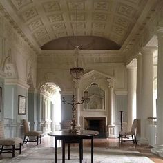 What a wonderful entrance hall @the.irish.aesthete