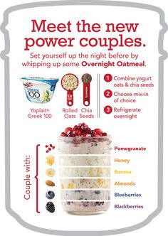 overnight oatmeal @Kelly Teske Goldsworthy O'Neill these ar the most delicious breakfasts I was telling you about!