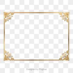 Gold retro decorative PNG and Vector Glitter Background, Background Banner, Background Patterns, Adobe Illustrator, Clipart Photo, Frame Floral, Rose Gold Brushes, Frame Border Design, Frame Clipart