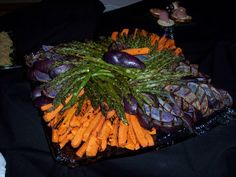 Running Wild Catering - Grilled Cold Vegetable Platter