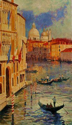 Alan Wolton, 1934 | Impressionist painter | Tutt'Art@ | Pittura * Scultura * Poesia * Musica |