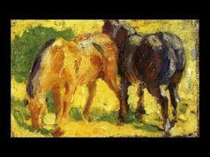 Franz Marc 弗朗茨·馬克 (1880-1916) Realism Expressionism German