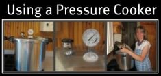 Using Your Pressure Cooker---this is a great site full of tons of information -- canning -- pressure and BWB, as well as steam juicers, root cellaring, dehydrating and freezing.