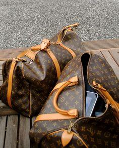 LV é sempre uma boa escolha para viajar com estilo.