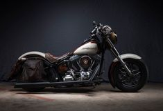 """2013 Harley-Davidson Softail Slim named """"Lilly"""" - Complete with Custom Paint, Tooled Seat, Saddlebags, & More.    http://themotolady.com/womens-motorcycle-show-bike-gallery/"""