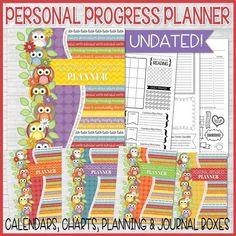 YW Personal Progress Planner Kit {UNDATED} PRINTABLE
