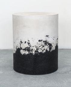 Raw Cement + Black Silica   MMATERIAL by Fernando Mastrangelo