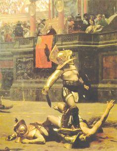 gladiadores escravos