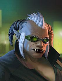 Shadowrun Troll Female aab738985f