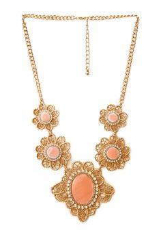 Regal Flower Necklace | FOREVER21 - 1000124779