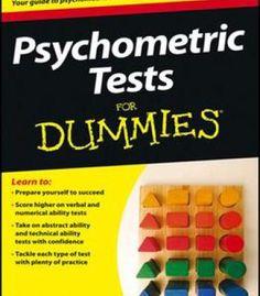 Psychometric Tests For Dummies PDF