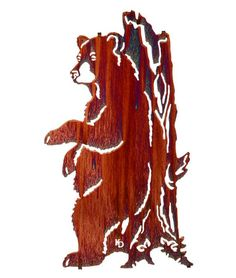 24 Lazart Metal Wall Art Wall Decor Relief Bear Wall Mount by Laser Wall Art Home Décor 9806 Easy hang hooks located on the back of the art piece Laser Cut Metal. Metal Tree Wall Art, Metal Art, Laser Cut Metal, Laser Cutting, Scroll Saw Patterns, Art Patterns, Colorful Wall Art, Tree Art, Wall Sculptures