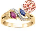 Linked Love Mothers Ring