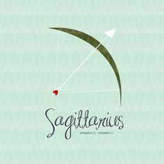 Sagittarius Zodiac Sign Print for kids' Rooms and Baby Nurseries Sagittarius…