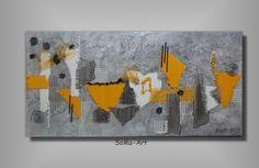 Acrylbild+City+3000+#027+von+SoMa-Art+auf+DaWanda.com