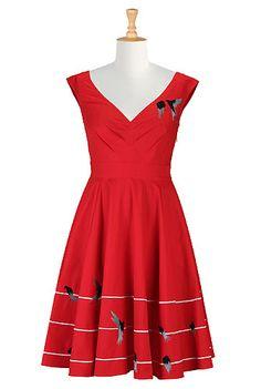 Chambray Dress, Blue Dresses For Women Women's designer clothing ...