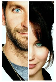 Bradley Cooper & Jennifer Lawrence - The Silver Lining Playbook---only saw it once so far and it was one of the movies that affected me most, so truthful about dealing with any sort of struggle in your life