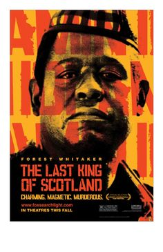 The Last King of Scotland. James McAvoy is in my 5 so that was great eye candy. However, I def. recommend this film if you haven't seen it. Also, makes you want to look into Ugandan and African history more. Rating: 4.5/5