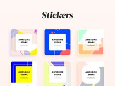 Download FREE PSD  Welcome to Daily UI Elements for 100 days straight (including weekends and holidays).  This is day 013.  Our challenge for today is promotional stickers.  I invite you all to reb...