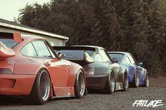 RWB Porsches