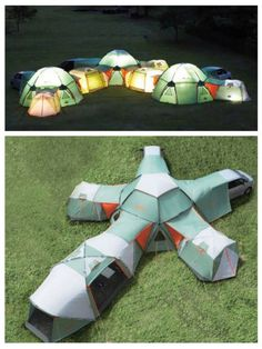 Want it! Best tent ever