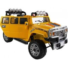 Extended Hummer H3 Style Kids 12v Ride on Car with Remote Control